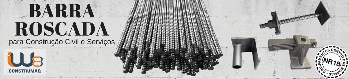 Barra Roscada para Ancoragem Construção Civil